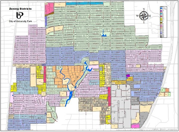 Zoning Map | City of University Park, Texas