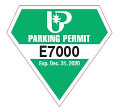 Hillcrest East Parking Permit