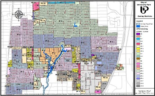 City Of Dallas Zoning Map Zoning Map | City of University Park, Texas City Of Dallas Zoning Map
