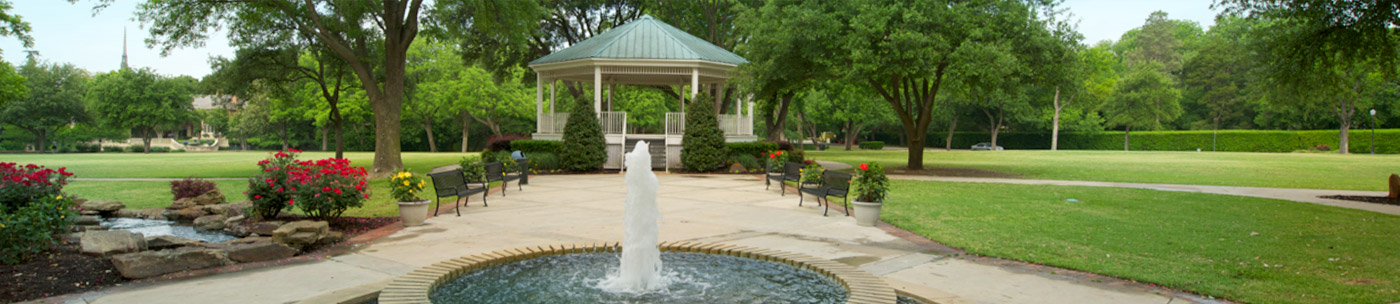 picture of town fountain