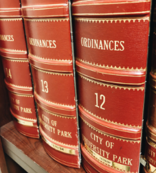 Ordinance books